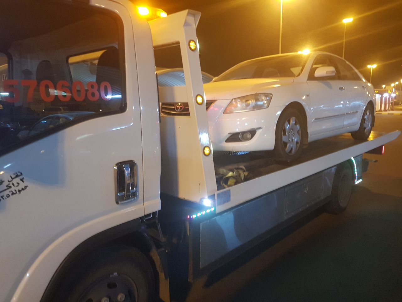tow truck for night services