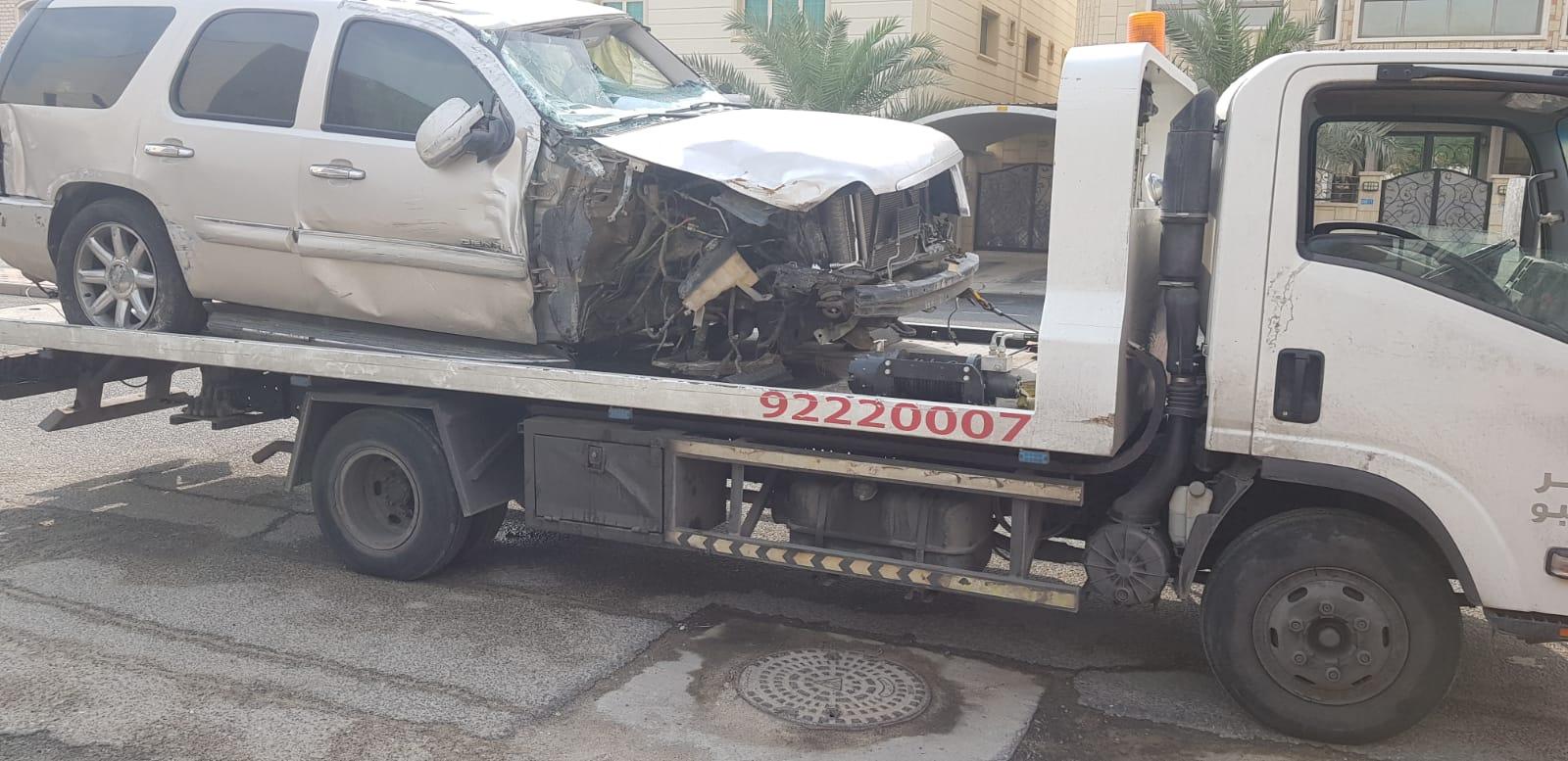 ونش الكويت للخدمة الليلة - أفضل الخدمات 24 ساعة (92220007)